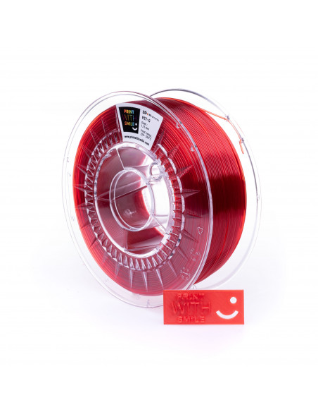 PET-G - 1,75 mm - Rubin RED - 1 Kg