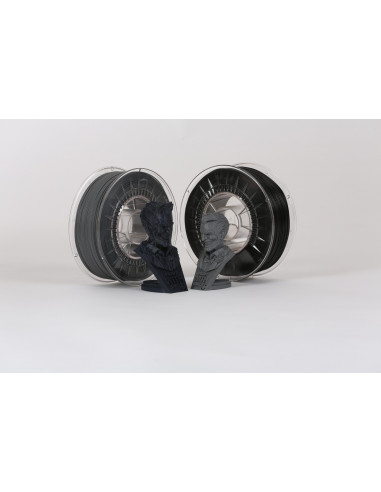 PLA DUO PACK - 1,75 mm - Grey/Black - 2 x 500 g
