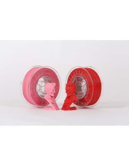 PLA DUO PACK - 1,75 mm - Pink/Red- 2 x 1000 g