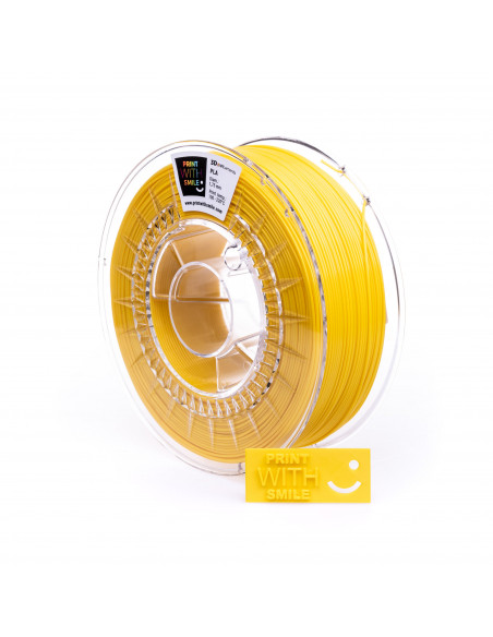 PLA DUO PACK - 1,75 mm - Žlutá/Yellow - 2 x 500 g