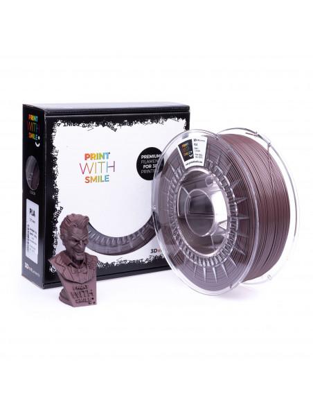 PLA - 1,75 mm - Chocolade Shine - 1000 g