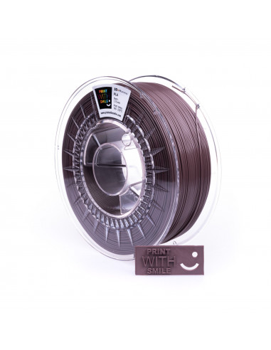 PLA - 1,75 mm - Chocolade Shine - 500 g