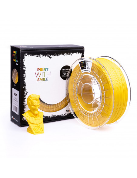 PLA - 1,75 mm - Yellow - 500 g