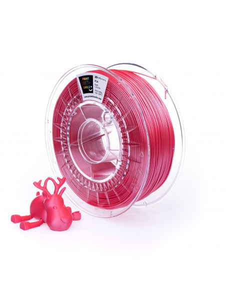 SATIN PLA - 1,75 mm - Peach RED - 1000 g