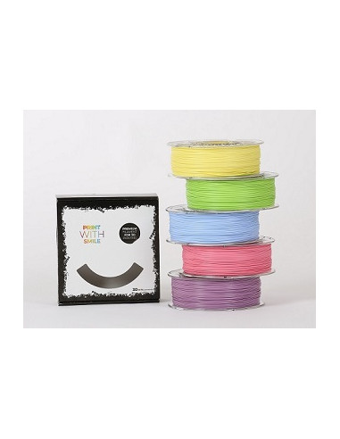 PLA - PASTELPACK - 1,75 mm - Multipack - 6 x 500 g