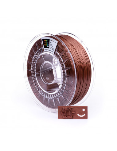 PLA - 1,75 mm - Copper BROWN - 1000 g